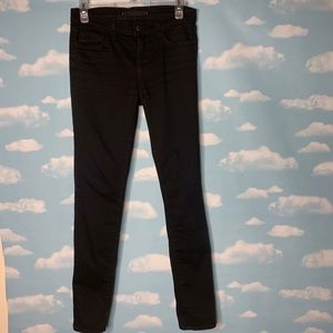 J Brand- Black Straight Leg Pants size 26